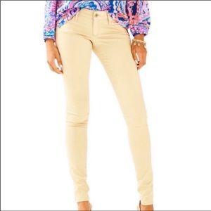 Lilly Pulitzer Khaki Worth Skinny Pants